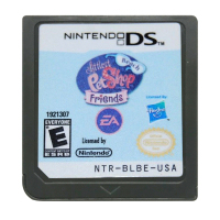 DS Game Cartridge Console Card Littlest Pet Shop Beach Friends USA Version English Language for Nintendo DS 3DS 2DS