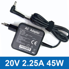 20v 2.25a 45W AC Laptop Power Adapter Charger for-Lenovo ADL45WCG ADP-45DW CA PA-1450-55LR PA-1450-55LK EU Plug Charger