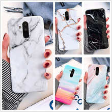 Marble Case For Huawei P20 Lite P30 Pro Soft TPU Cover For Huawei Nova 3i 3e 4e Mate 20 Lite mate 20 Pro Case Cover Phone Case rose leather flip case honor 8x y9 2019 mate 20 pro 20 lite 9 lite nova 3i p20 pro smart for huawei nova 3e p20 lite phone case