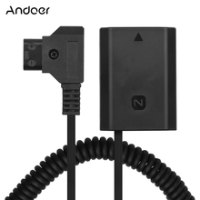 Andoer D TAP TO NP FZ100/LP E6 DC Coupler อะแดปเตอร์ Dummy แบตเตอรี่อุปกรณ์เสริมสำหรับ Sony A9/a7R3/A7M3/A7S3/A7III กล้อง