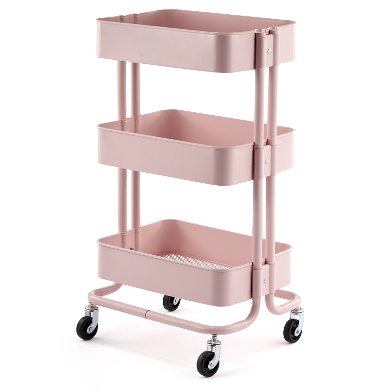 Dedicated Skin Management Trolley, Hairdressing, Mobile Storage, Storage Rack, Nail Tool Cart, Beauty Salon Trolley