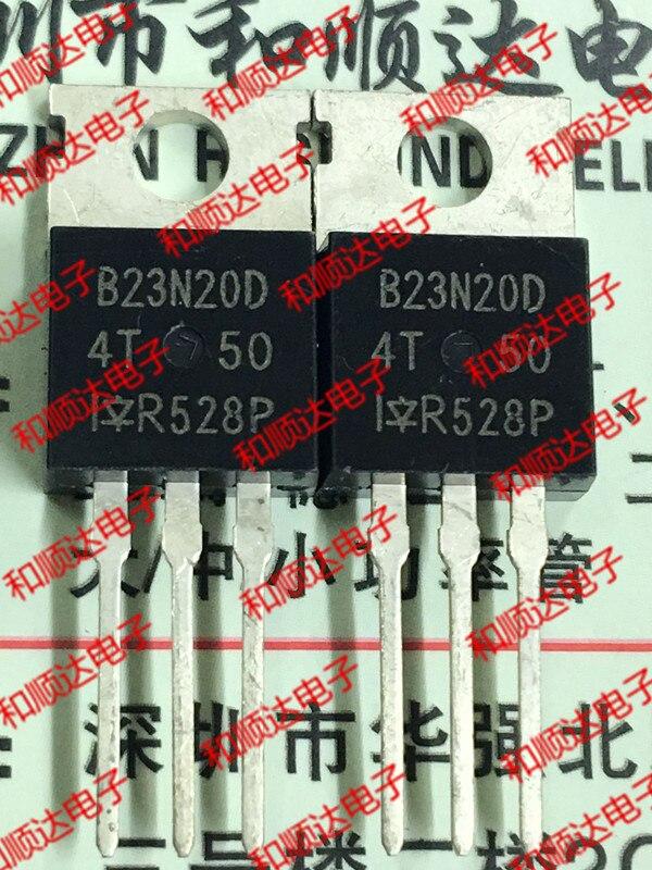 10pcs/lot B23N20D IRFB23N20DPBF Brand New Original Stock TO-220 200V 24A