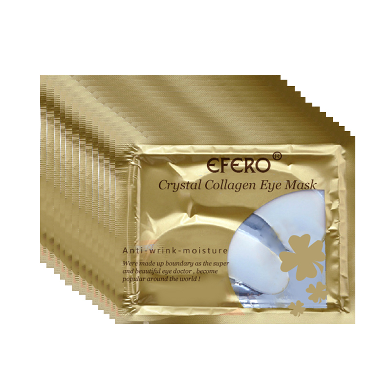 BIOAQUA Gold Osmanthus Eye Mask Women Collagen Gel Acid Moisturizing Eye Patches Anti-Aging Anti-Puffiness Eye Firming Gel Mask