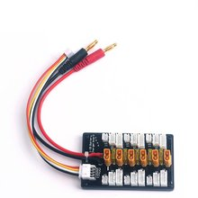 XT30 Multi Lipo Parallel Balanced Charging Board For 2S-6S RC Battery Charger Plate