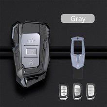 Liga de zinco carro remoto chave caso capa para hyundai i10 i20 i30 hb20 ix25 ix35 ix45 tucson acessórios do carro