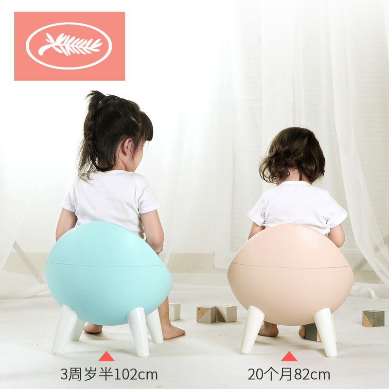 CHILDREN'S Toilet Pedestal Pan Baby Kids Chamber Pot Infants 1-3-6-Year-Old Bedpan Extra-large No. Men And Women Toilet