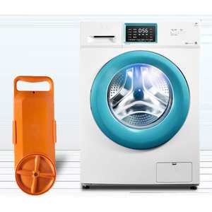 Adoolla Portable Mini Washing Machine Bucket Clothes Washer for Travel