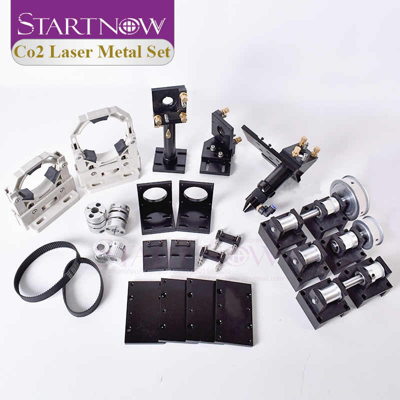 Kit de corte mecánico láser de CO2 Startnow, piezas de componentes metálicos, conjunto de cabezales láser para accesorios de Hardware de transmisión DIY