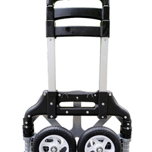 Hand-Truck Trolley Cart Folding with PP TPR Wheels Telescoping-Handle Out-Door
