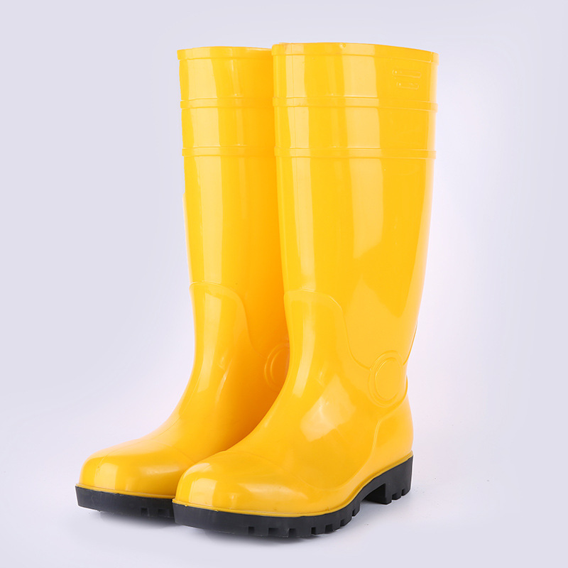 Hose Protective Boots Wholesale Smashing Stab Rainy Season Construction Waterproof Rain Boots Work Site Safe Labor Safety Rain B