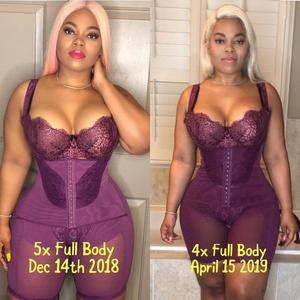 Image 5 - Frauen Abnehmen Full Body Shaper Korrigierende Unterwäsche Shapewear Bauch steuer Höschen Unterbrust Taille Korsetts Bodysuit Hüftgürtel