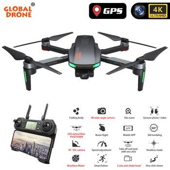 4K GPS Drone Camera 2-Axis Anti-Shake Servo Gimbal Quadcopter Profesional Dron Quadrocopter VS SG906 PRO FIMI Zino dropshipping