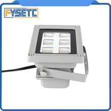คุณภาพสูง 110 260V 405nm UVเรซิ่นLED Light CuringโคมไฟสำหรับSLA DLP 3Dเครื่องพิมพ์แสงอุปกรณ์เสริมขายร้อน