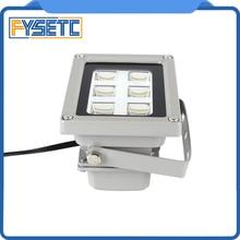 באיכות גבוהה 110 260V 405nm UV LED שרף ריפוי אור מנורת עבור SLA DLP 3D מדפסת רגיש אבזרים מכירה לוהטת
