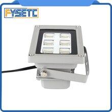 Hoge Kwaliteit 110 260V 405nm Uv Led Hars Genezen Licht Lamp Voor Sla Dlp 3D Printer Lichtgevoelige Accessoires hot Koop