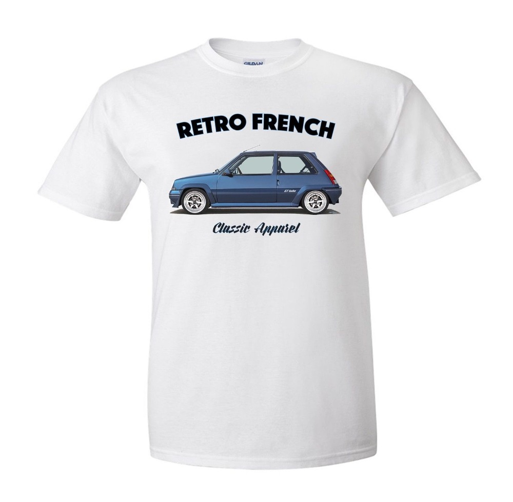 tee shirt super 5 gt turbo