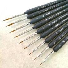 Pen Painting-Pen Brush Hook-Line Art-Supplies Drawing Fine-Hand-Painted 1set -00 Nylon