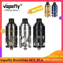 New Original Vapefly Brunhilde MTL RTA Tank 5ml Atomizer Single Coil Building 6 Levels Airflow Control Vape Vaporizer vs Zeus X