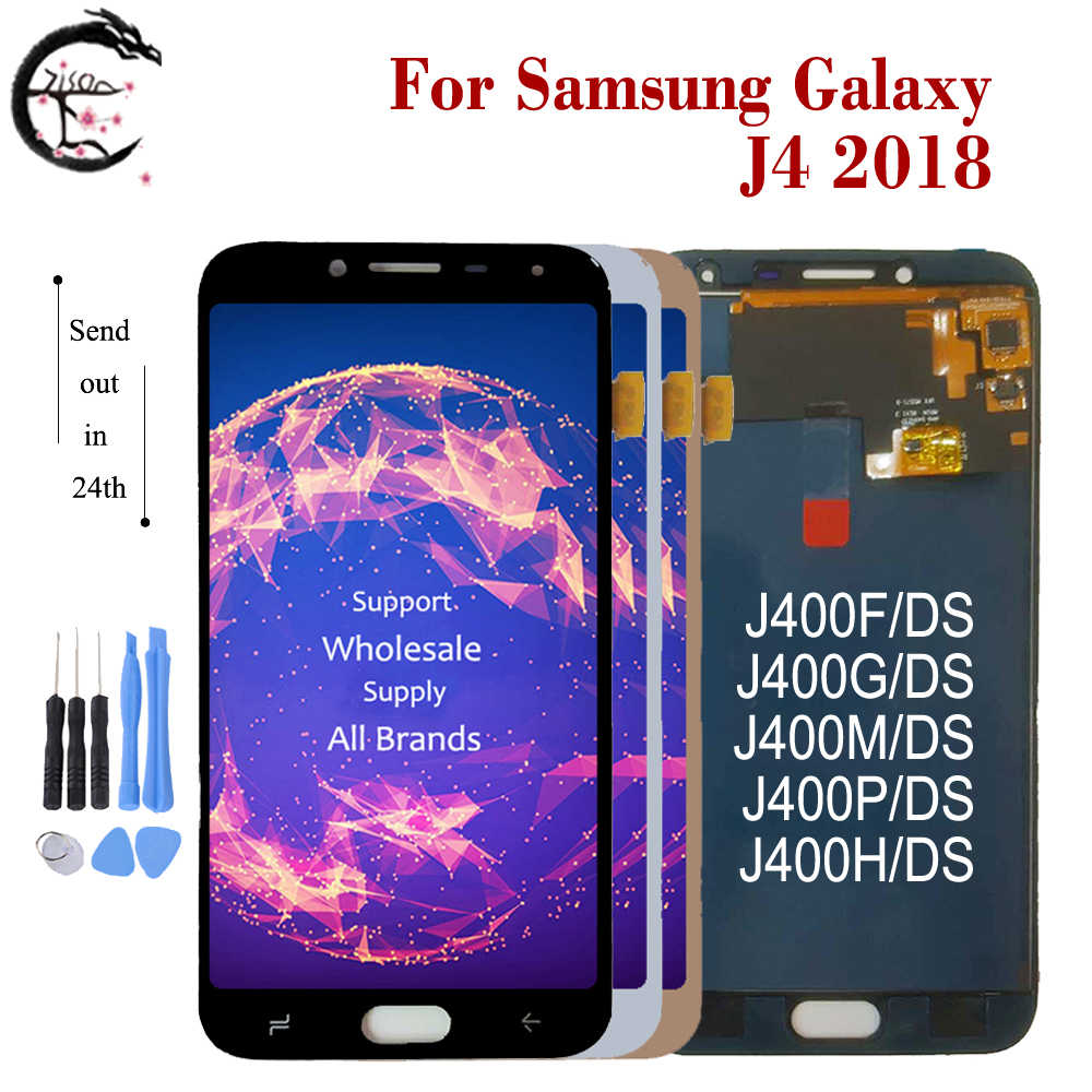 Image 3 - LCD For Samsung Galaxy J4+ J415F LCD J6+ J610FN Display J4 J400 J6 J600 2018 Screen Touch Digitizer Assembly J4 J6Plus LCD FrameMobile Phone LCD Screens   -