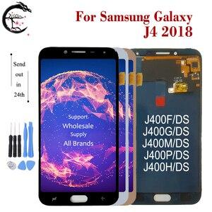 Image 3 - ЖК дисплей для Samsung Galaxy J4 + J415F LCD J6 + J610FN дисплей J4 J400 J6 J600 2018 экран сенсорный дигитайзер сборка J4 J6Plus ЖК тест