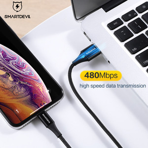 Image 3 - SmartDevil MFi USB כבל עבור iPhone 12 פרו Xs מקסימום 7 8 בתוספת מהיר טעינה עבור Appl ברקים כבל נתונים כבל טלפון מטען