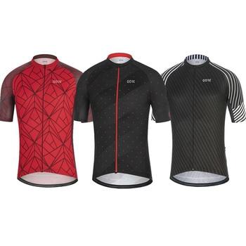 Gore Wear Pro Team-pantalones cortos de bicicleta para hombre, camiseta de manga...