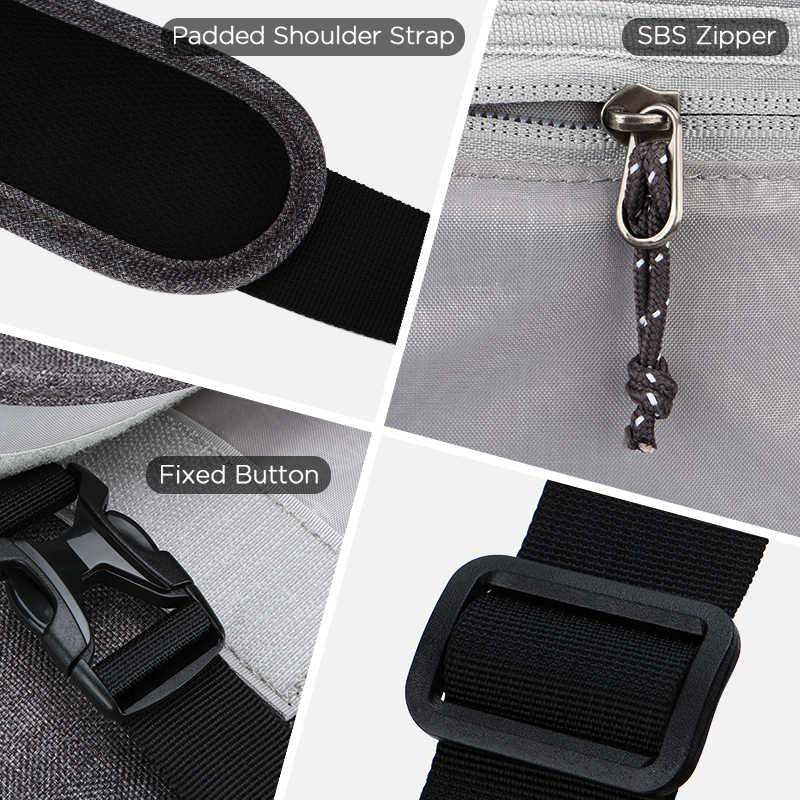 OIWAS 15 นิ้วแล็ปท็อปกระเป๋าแฟชั่นผู้ชายกระเป๋าแฟชั่นธุรกิจกระเป๋าเดินทางผ้าใบสตรีกระเป๋าถือผู้ชาย Crossbody กระเป๋ากระเป๋าถือ