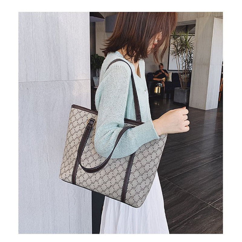 2019 High Quality Women's Single Shoulder & Handbag Luxury Large Women Handbags Designer Bags Famous Brand Women Shopping Bags