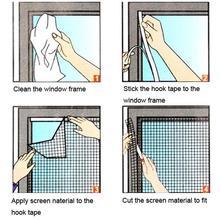 200 см x 150 см Сделай Сам ветровой щиток Шторы насекомое муха комар ошибка сетка на окно Экран