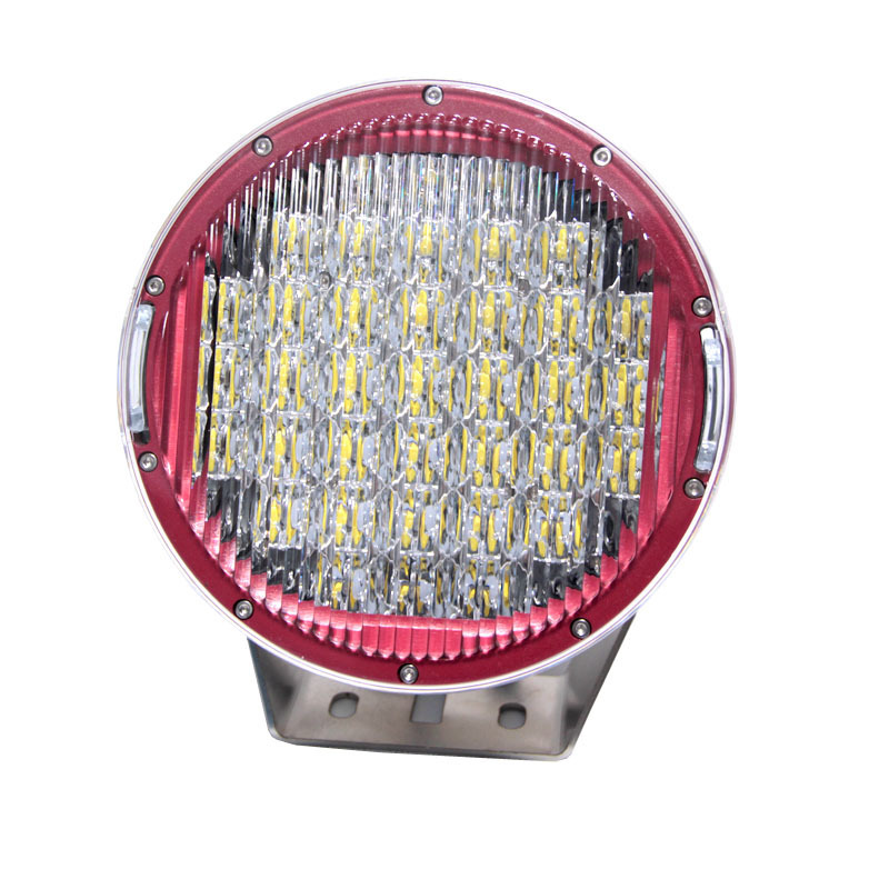 Manufacturers Selling 185 W Circular Working Light Hot Style Red Project Lamp High-power Condenser Led Car Light