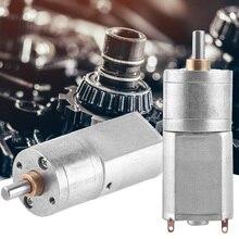 12 В постоянного тока мотор-редуктор высокий Электрический редуктор 15~ 200 об/мин Наружный диаметр 20 мм полностью металлический Редуктор DC мотор-редуктор