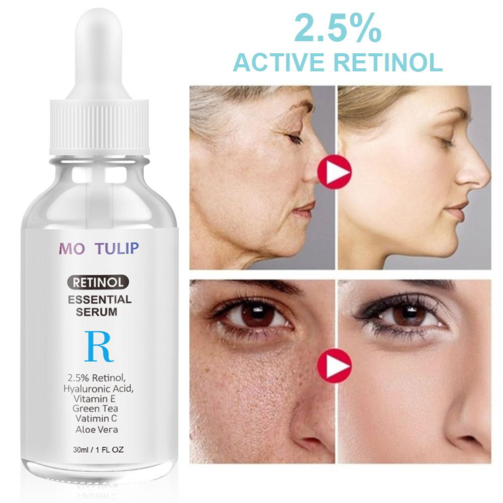 30ML Retinol Serum Hydrating Anti-Aging Vitamin Hyaluronic Acid Essence for Women image