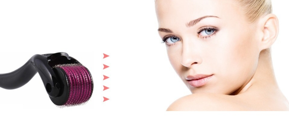 DARSONVAL 540 derma roller pure microneedling 0.2/0.25/0.3mm needles Length titanium dermoroller microniddle roller for face