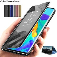 Spiegel Anzeigen Smart Flip Fall Für Samsung Galaxy Groß Prime Luxus original Magnetischen fundas SM G530 G530F G530H G531H Telefon abdeckung