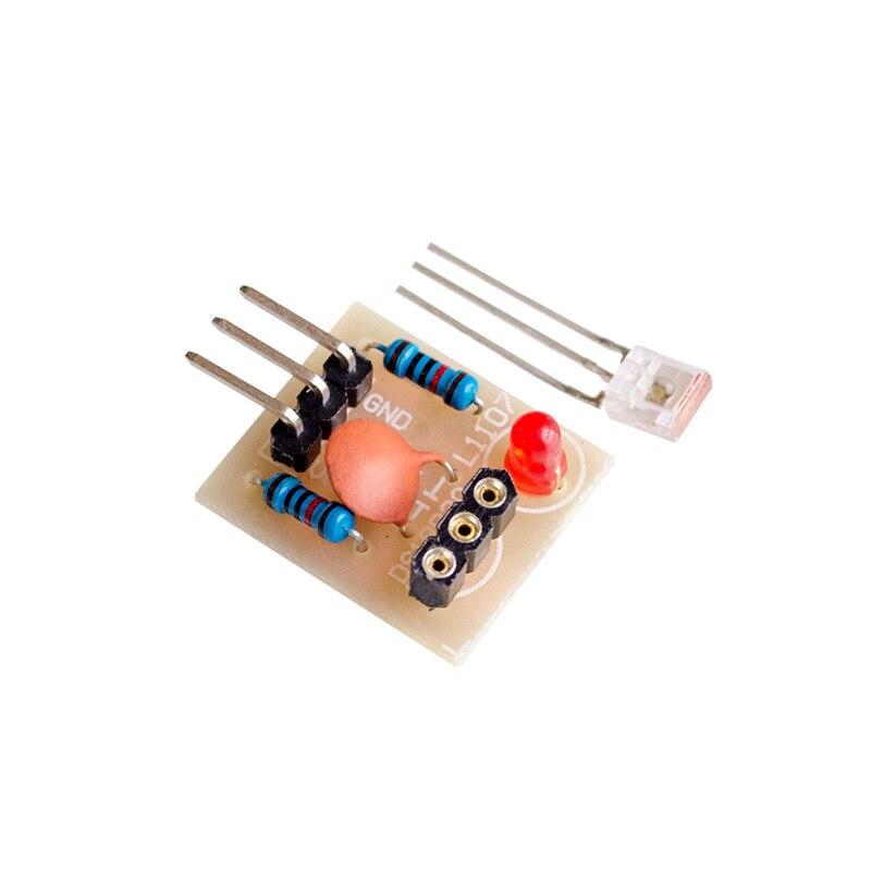Модуль лазерного датчика без модулятора модуль лазерного приемника DIY для arduino