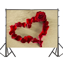 цена на 150x210cm Love/Heart Patern Party Background Photography Backdrop for Wedding Baby Birthday Decoration Photo Wall Studio Props