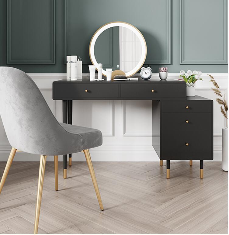 light luxury dresser storage cabinet one make up table women s bedroom modern simple multi functional north european make up tab
