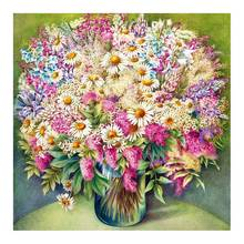 flower vase Moge Diamond Painting Cross Stitch Full Round New DIY 5D home decorative still life water bottle Mosaic Embroidery