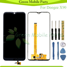 Tested  LCD  For Doogee X90 LCD Display With Touch Screen Assembly For Doogee X90L LCD for asus s400 touch lcd assembly b140xw03 14 0 lcd assembly fully tested free shiping