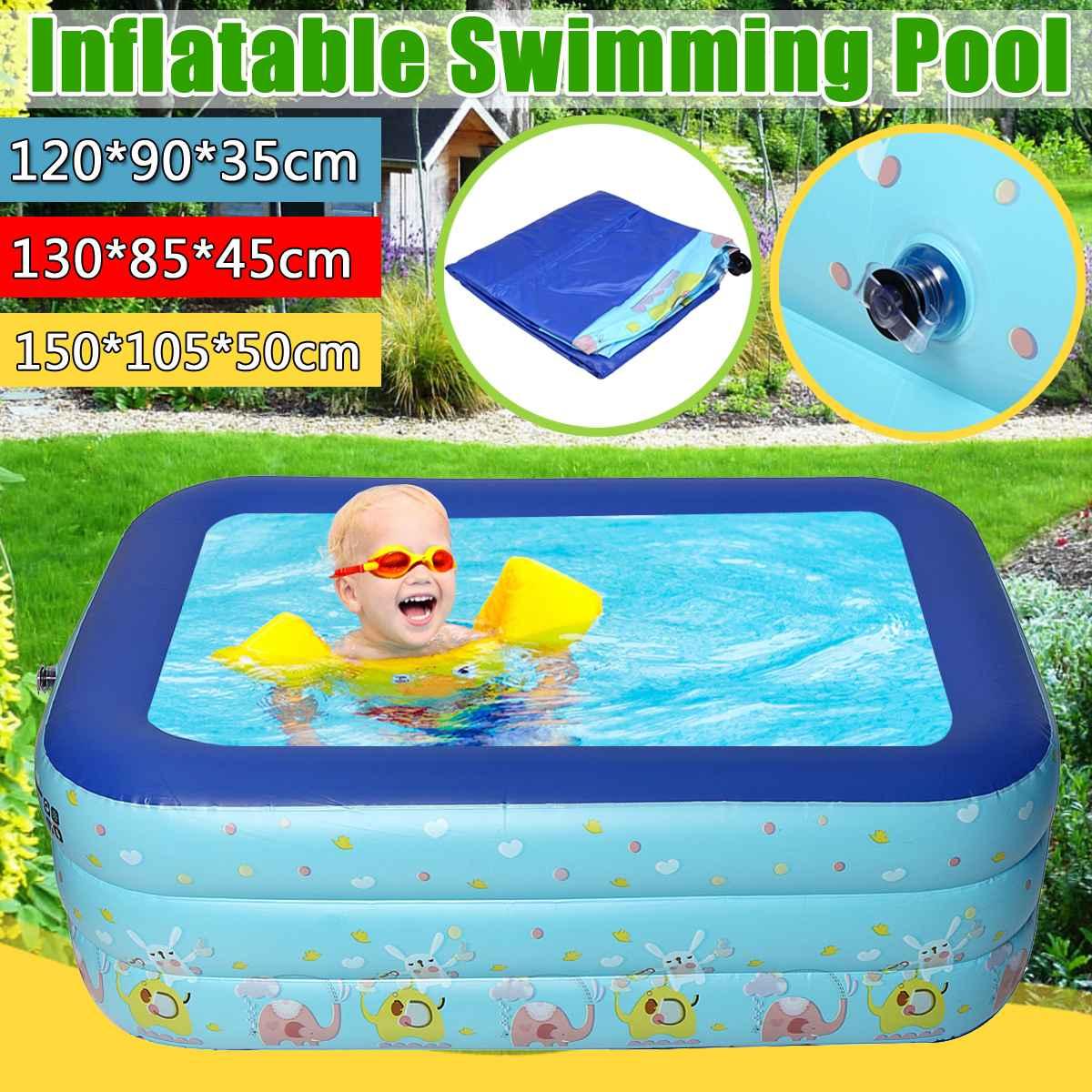 130cm aufblasbare Badewanne Badewanne Swimmingpool für Kleinkind Tragbare 120