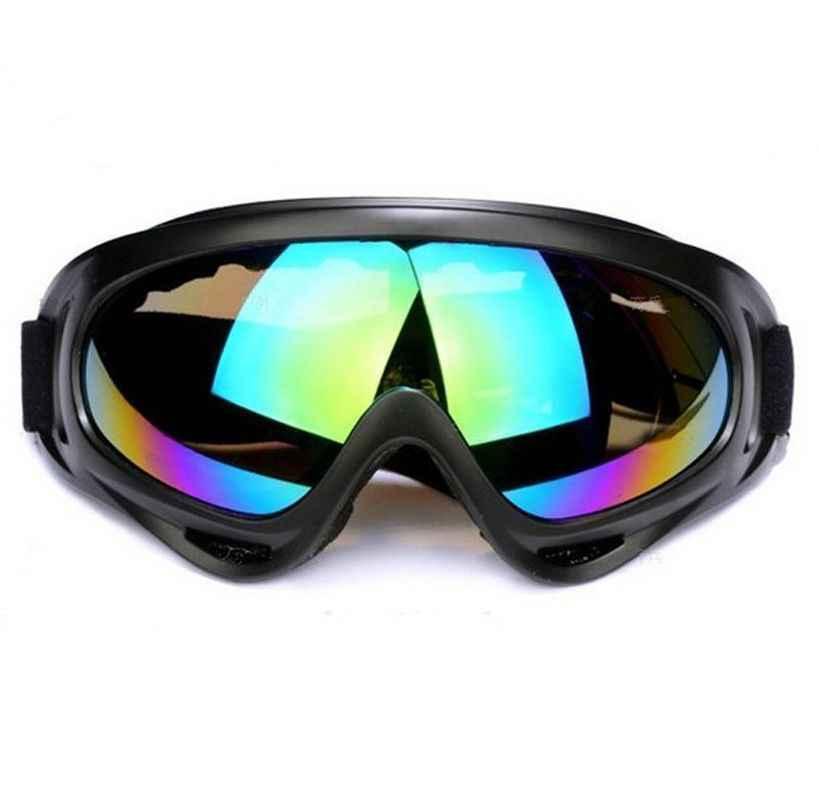 Зимние снежные спортивные лыжные сноубордические снегоходы анти-противотуманные очки Защита от пыли и ветра очки UV400 скейт лыжные Солнцезащитные очки