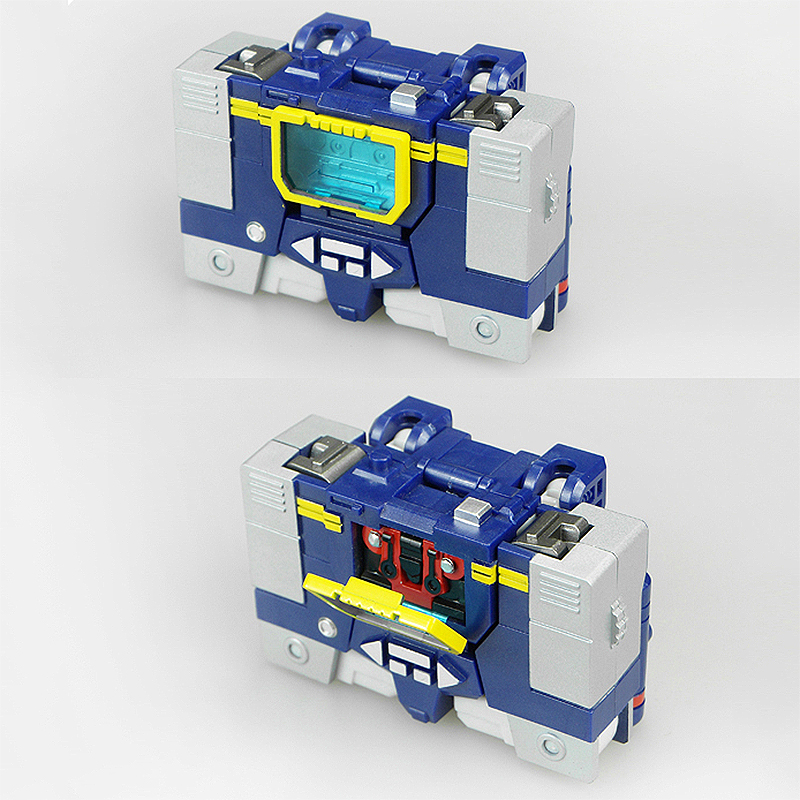 Image 3 - Soldiers Warrior HS Transformation Soundwave With Laserbeak G1 Pocket War Action Figure Robot Toys HS03Action & Toy Figures   -