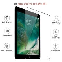 9H Screen Protector for iPad Pro 12.9 Tempered Glass Tablet Protective Screen film Anti-Scratch for iPad Pro 12.9 inch 2017 2018 lens protector for fimi palm gimbal camera anti scratch 9h tempered glass screen film pet soft film protective accessories