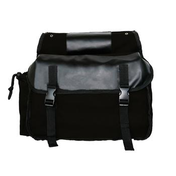 Canvas Motorcycle Saddle Bags Waterproof SaddleBags For Motorcycle Luggage Bags Travel Knight Rider For Touring Motorcycle Box 7