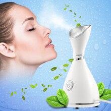 Нано-Ионный Очиститель для лица для глубокой очистки, устройство для паровой очистки лица, паровой аппарат для лица, термальный распылитель для лица, инструмент для ухода за кожей
