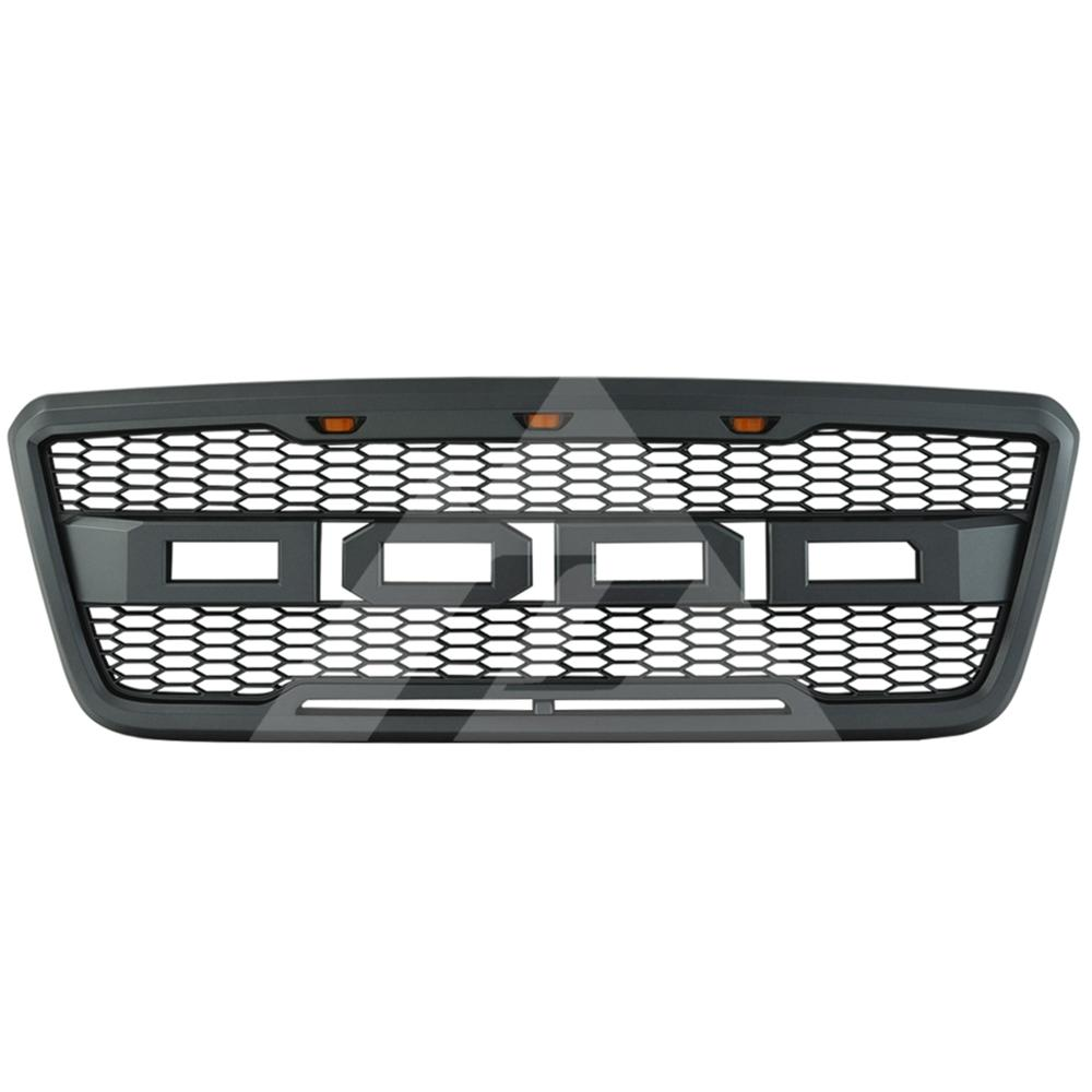 for 2004-2005 <font><b>2006</b></font> 2007 2008 <font><b>Ford</b></font> <font><b>F150</b></font> ABS New Raptor Style Packaged Grille image