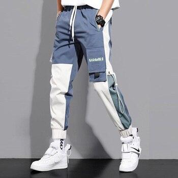 Streetwear Multi Pockets Hip Hop Cargo Pants Men Casual Male Track Tactical Pants Joggers Plus Size Trousers Harajuku Pants new track pants winter sports trousers straight casual pants male large size multi pocket outdoor running pants streetwear men