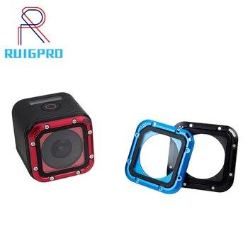 цена на Replacement Lens Cover For GoPro Hero 5/4 Session Aluminum Alloy Lens cap Protective For GoPro Hero4 Hero5 Session Accessories