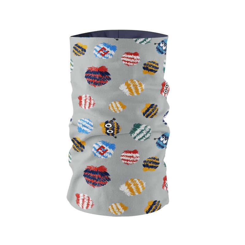 Цветная бандана, женский шарф, модный дизайн, пыленепроницаемый бесшовный трубчатый ободок, кольцо, шарф, маска