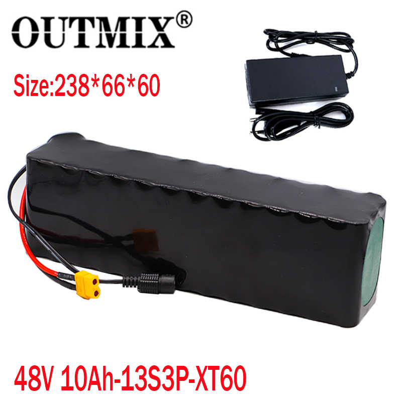 XT60 48V 20ah e-bike Lithium ion Battery with Charger for 1000w Electric Bike
